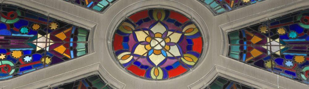 Vitrail de la grande Synagogue de la Victoire
